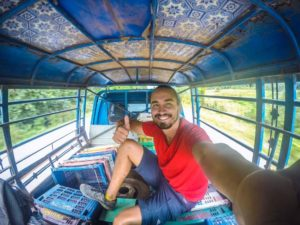 Hitchhiking in Laos was an adventure but worth it!