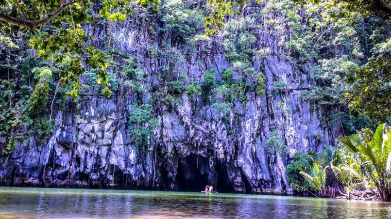 The Underground River at Sabang