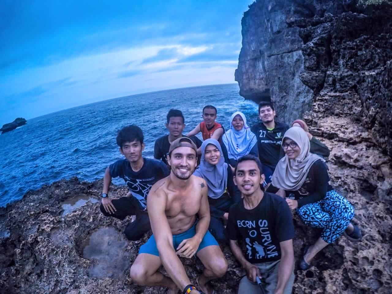 My Indonesian crew