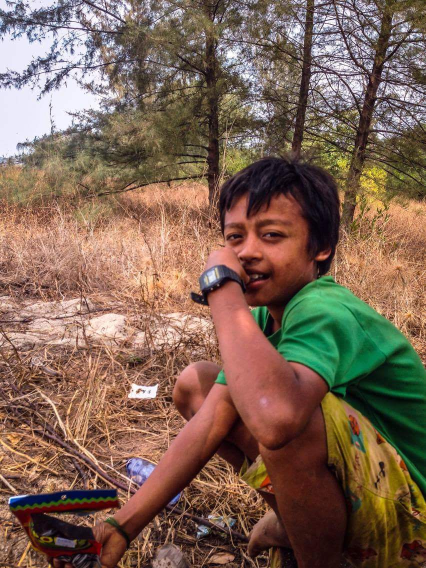 Burmese kid I met at San Maria