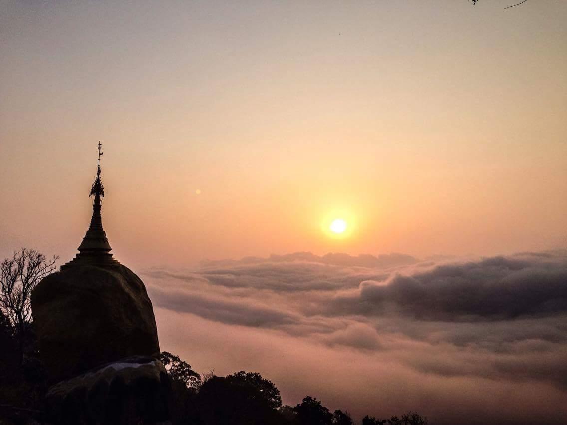 Sunrise at the Pagoda